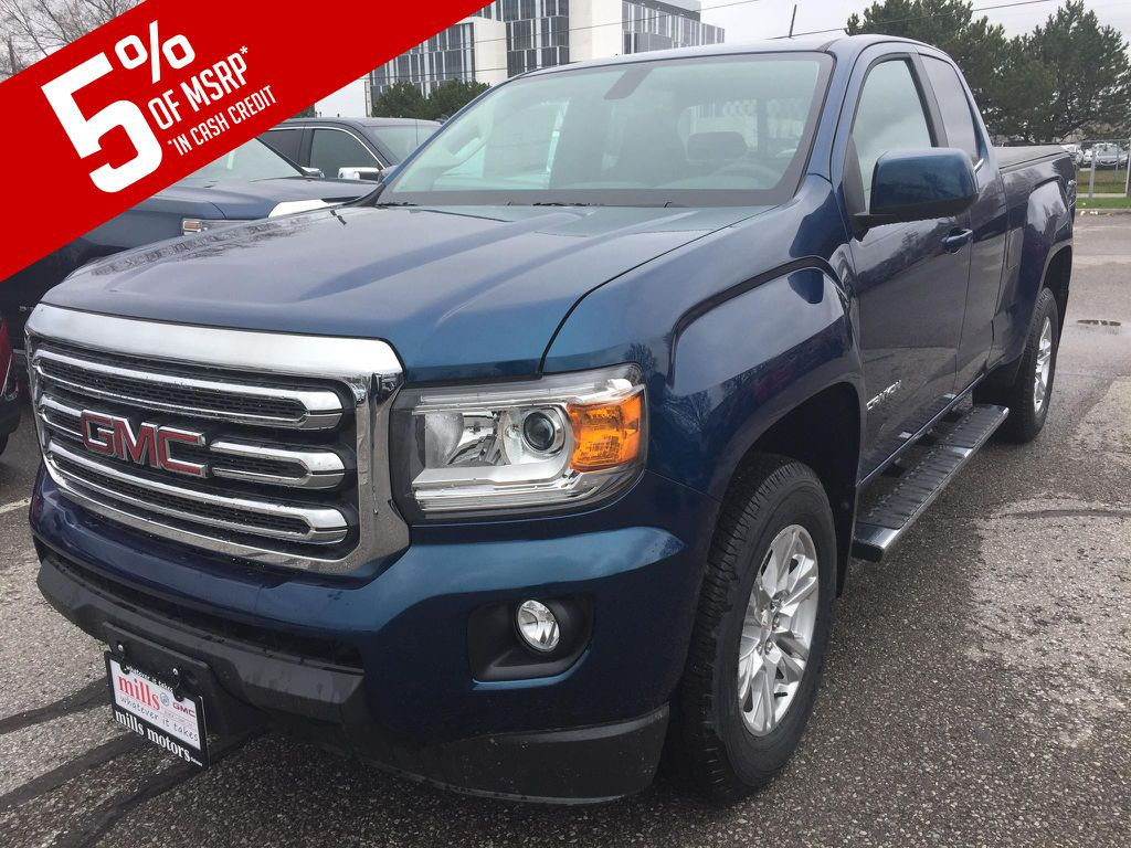 New 2019 GMC Canyon 4WD Ext Cab 128.3 SLE