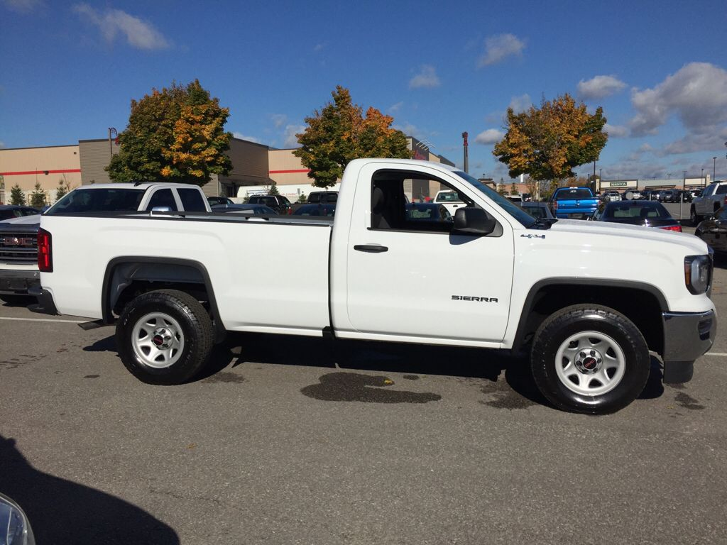 New 2017 GMC Sierra 1500 4WD Regular Cab 133.0 2 Door ...