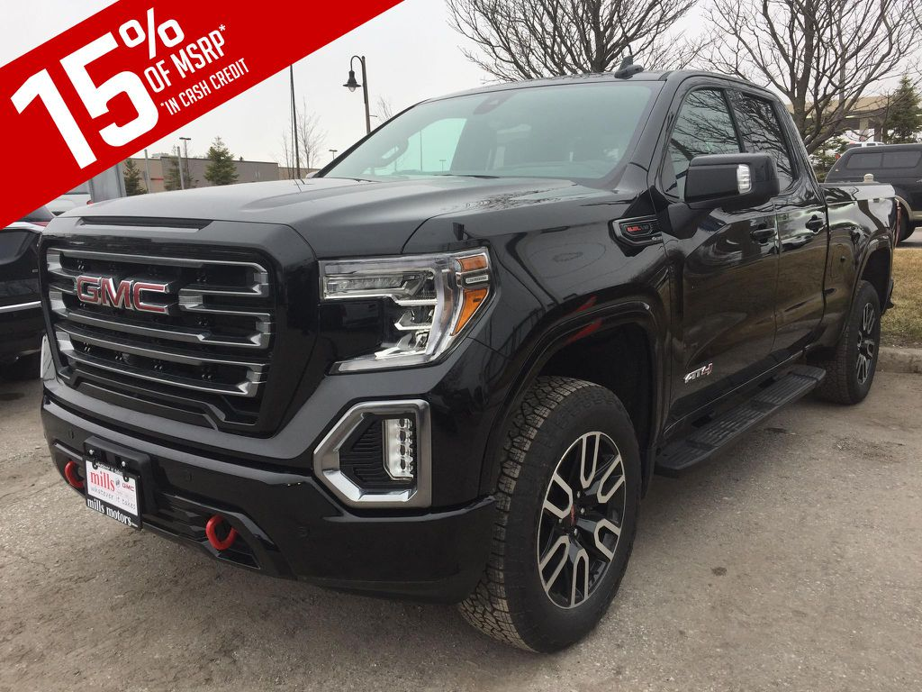 New 2019 GMC Sierra 1500 4WD Double Cab AT4
