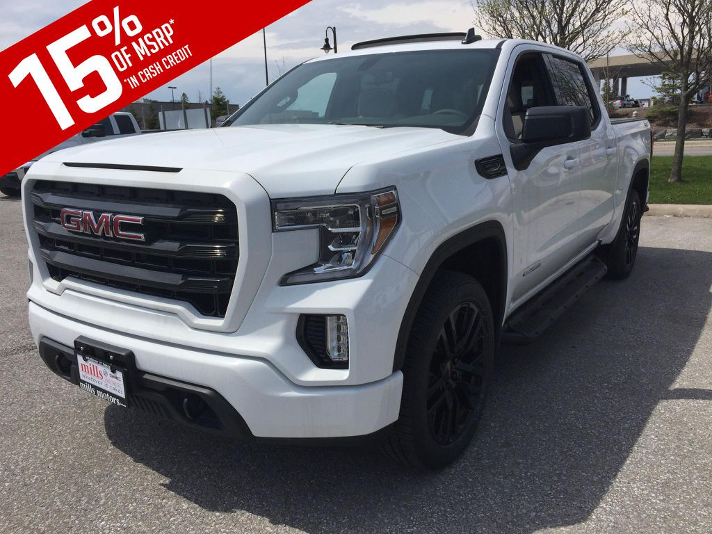New 2019 GMC Sierra 1500 4WD Crew Cab Elevation