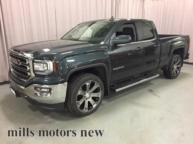 new 2017 gmc sierra 1500 4wd double cab 143 5 sle 4 door pickup in oshawa 170941 mills motors. Black Bedroom Furniture Sets. Home Design Ideas