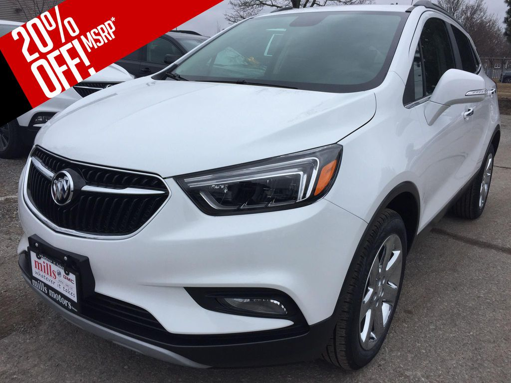 New 2018 Buick Encore AWD 4dr Essence