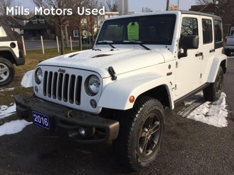 Pre-Owned 2016 Jeep Wrangler Unlimited 4WD 4dr 75th Anniversary