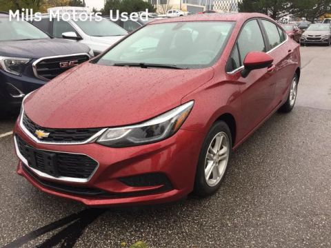 Pre-Owned 2018 Chevrolet Cruze 4dr Sdn 1.4L LT w/1SD