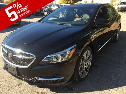 New 2019 Buick LaCrosse 4dr Sdn Avenir AWD