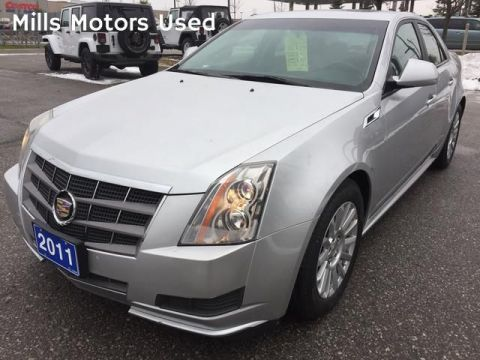 Pre-Owned 2011 Cadillac CTS Sedan 4dr Sdn 3.0L RWD