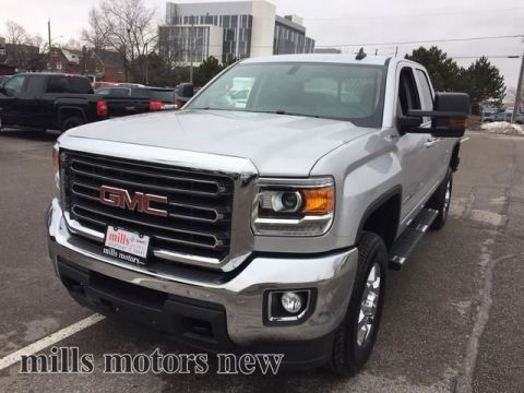 new 2017 gmc sierra 2500hd 4wd double cab 144 2 sle 4 door pickup in oshawa 170454 mills. Black Bedroom Furniture Sets. Home Design Ideas