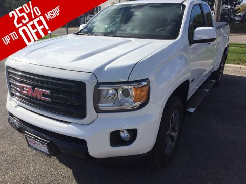 New 2018 GMC Canyon 4WD Ext Cab 128.3 All Terrain w/Cloth