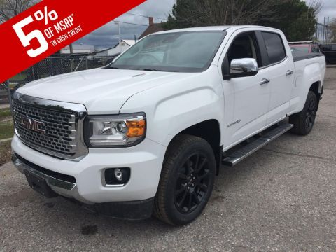 New 2019 GMC Canyon 4WD Crew Cab 140.5 Denali