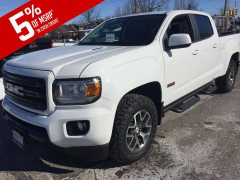 New 2019 GMC Canyon 4WD Crew Cab 140.5 All Terrain w/Leather