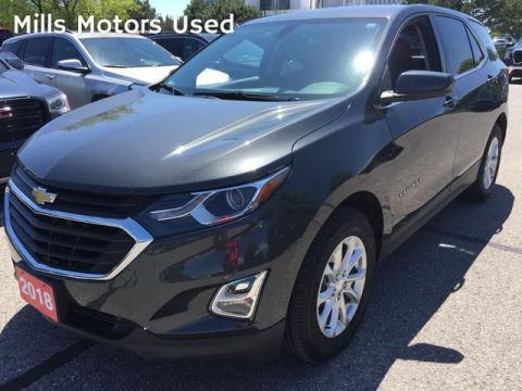 Pre-Owned 2018 Chevrolet Equinox FWD 4dr LT w/1LT