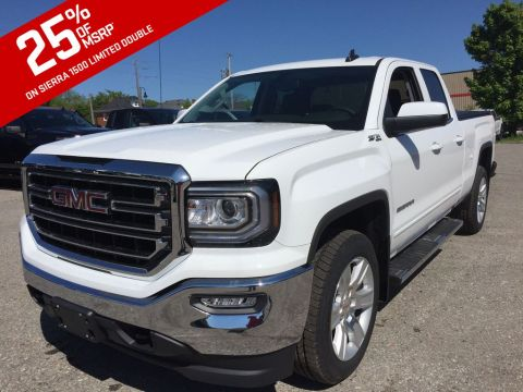 2019 GMC Sierra 1500 Limited 4WD Double Cab SLE