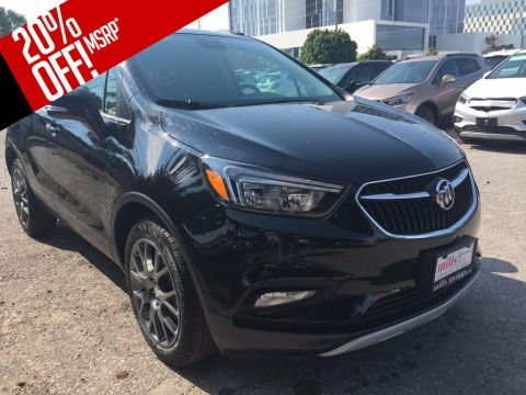 New 2018 Buick Encore FWD 4dr Sport Touring