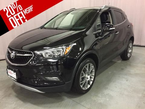 New 2018 Buick Encore AWD 4dr Sport Touring