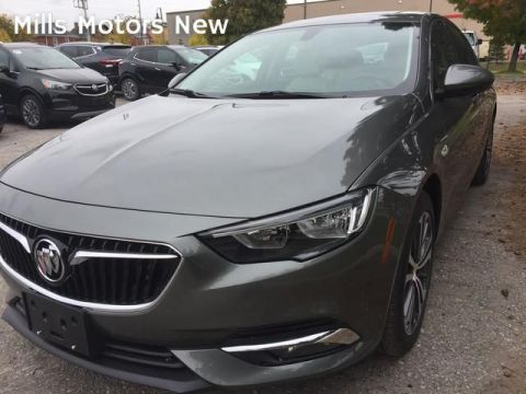 New 2019 Buick Regal Sportback 4dr Sdn Preferred II FWD